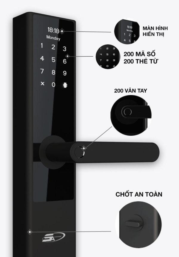 Khóa vân tay TS 2000 Plus Đà Nẵng - 3