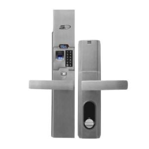 khóa vân tay cao cấp SK06 bạc