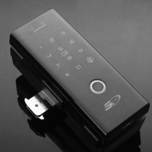 khóa vân tay cửa kính cường lực 5A G9 Plus